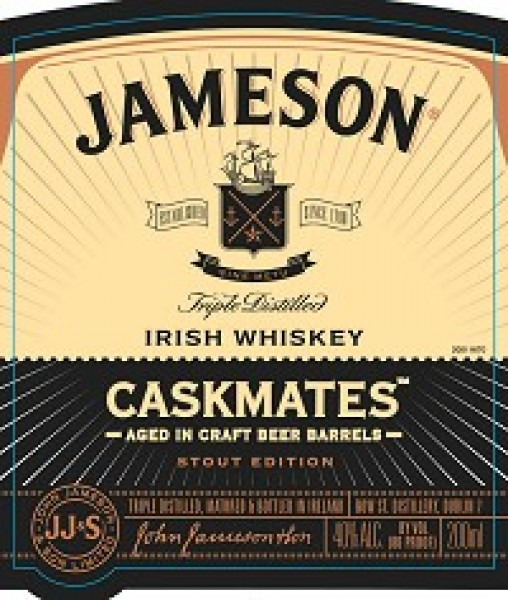 Jameson Irish Whiskey Cask Mates Stout