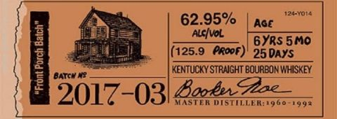Booker's Bourbon Batch 2017-03